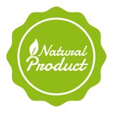 Vegan Button Natural Product Badge. Eps10 Vector Banner. Vegan Button Natural Product Badge. Eps10 Vector Banner royalty free illustration