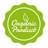 Vegan Button - Organic Product Badge. Eps10 Vector vector illustration