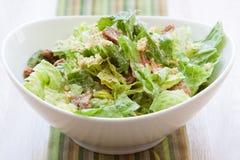 Vegan Caesar Salad Royalty Free Stock Photography