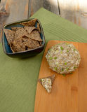 Vegan Cheese Ball as side dish Royalty Free Stock Photography