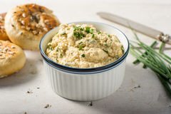 Vegan cheese cream spread healthy Royalty Free Stock Images