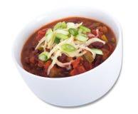 Vegan chili bowl Royalty Free Stock Photos