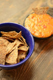 Vegan chips and nachos Royalty Free Stock Images