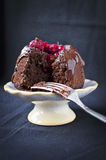 Vegan chocolate cake Royalty Free Stock Photography