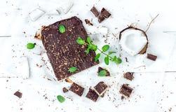 Vegan coconut cake Stock Photography