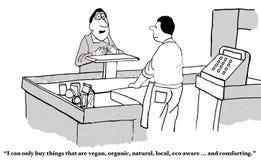 Vegan... and Comforting Stock Image