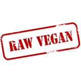 Vegan cru illustration stock