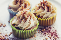 Vegan cupcakes Royalty Free Stock Photography