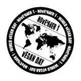 Vegan day royalty free stock image