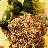 Vegan dinner Royalty Free Stock Photography
