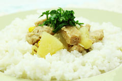 Vegan dish Stock Images