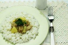 Vegan dish Stock Image