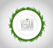 vegan food concept illustration design Royalty Free Stock Images