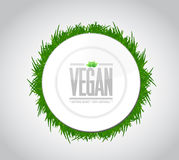 vegan food concept illustration design Royalty Free Stock Images