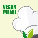 Vegan food design Stock Image