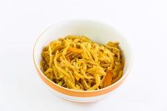 Vegan food popular manu in Nine Emperor Gods Festival Royalty Free Stock Image