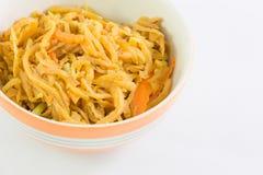 Vegan food popular menu in Nine Emperor Gods Festival ( J food ) Royalty Free Stock Images