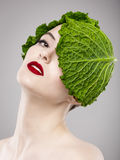 Vegan Girl Stock Images
