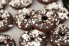 Vegan gluten-free Doughnuts Royalty Free Stock Photography