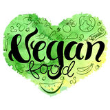 Vegan heart Stock Images