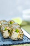 Vegan homemade vegan sushi rolls Royalty Free Stock Photography