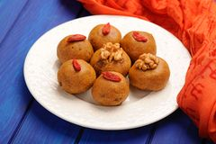 Vegan indian sweets Stock Photo