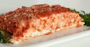 Vegan lasagna Stock Image
