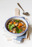 Vegan lentil stew Stock Photos