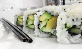 Vegan maki rolls Stock Images