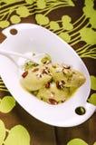 Vegan Matcha sorbet Royalty Free Stock Image