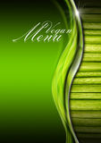 Vegan Menu Menu Template Stock Images