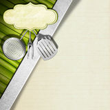 Vegan Menu Template Royalty Free Stock Image