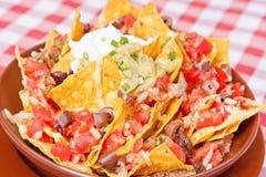 Vegan nachos Stock Photos