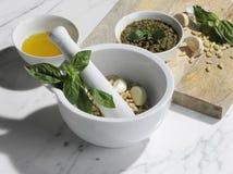 Vegan Pesto στοκ εικόνες