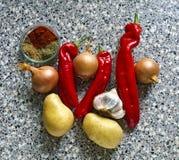 Vegan potato goulash Stock Photo