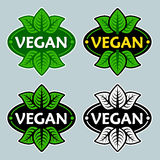 Vegan Products Certified Seal Stock Photography