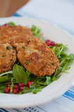 Vegan Quinoa Patties Royalty Free Stock Photo
