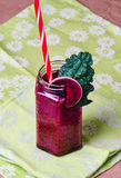 Vegan raw smoothie Royalty Free Stock Photos