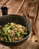 Vegan Rice Stir Fry and Other Vegetables royalty free stock image