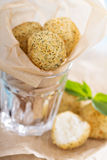 Vegan risotto arancini. Fried with herbs and breadcrumbs Stock Photography