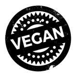 Vegan rubber stamp Royalty Free Stock Images