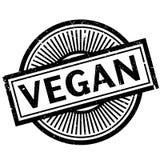 Vegan rubber stamp Stock Image