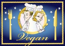 Vegan/séries végétariennes Images libres de droits
