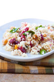 Vegan Salad - Cranberry Date Crunch Royalty Free Stock Photo
