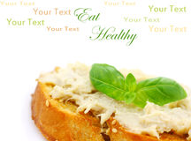 Vegan Sandwich Stock Photography