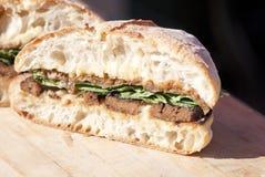 Vegan Sandwich Royalty Free Stock Photography