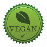 Vegan Seal royalty free illustration