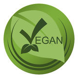 Vegan seal royalty free stock images