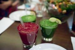 Vegan smoothies Stock Photos
