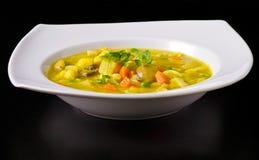 Vegan Soup Dish Royalty Free Stock Photos